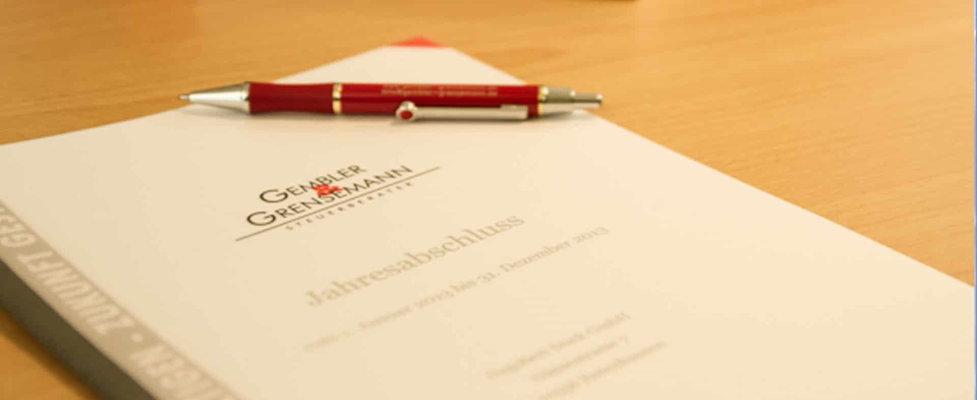 Steuerberater Gembler und Grensemann - Jahresabschluss