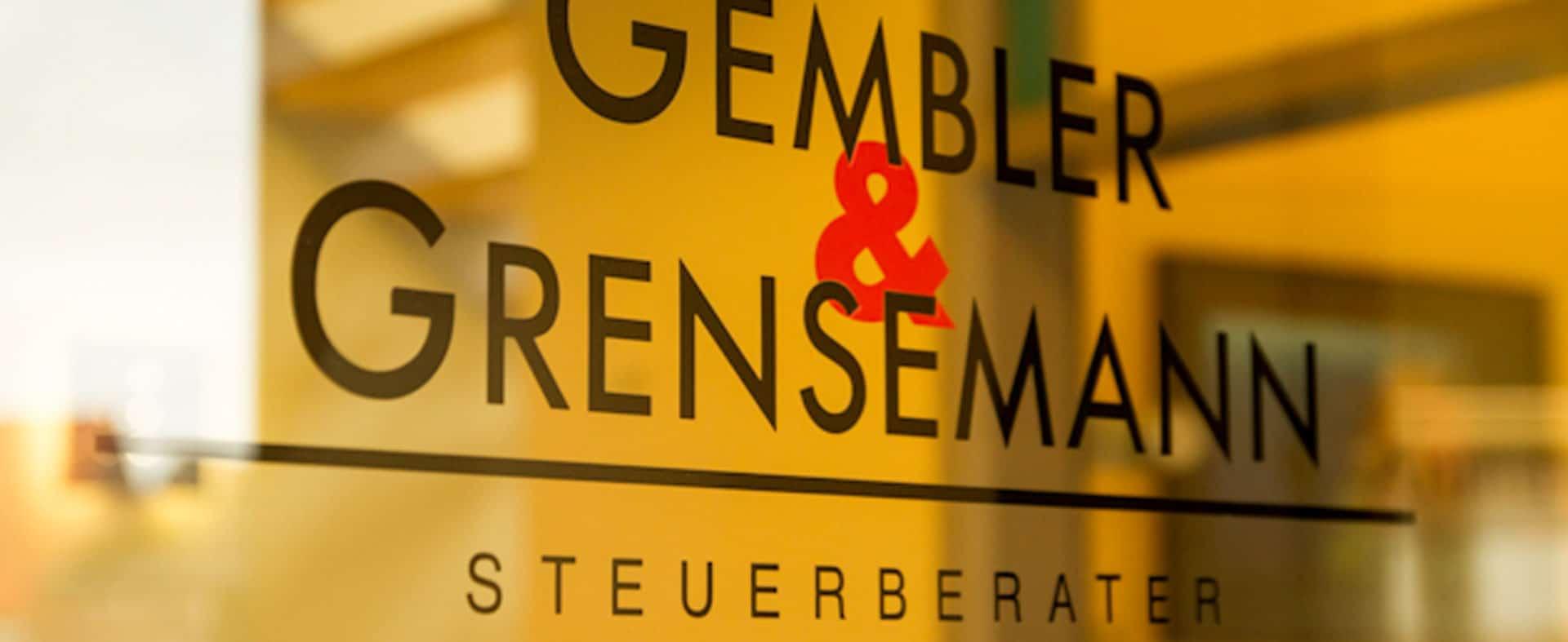 Steuerberater Gembler und Grensemann - Eingang