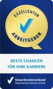 Siegel Exzellenter Arbeitgeber Steuerberater Gembler & Grensemann in Aurich
